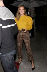 JAMIE CHUNG Night Out in Beverly Hills 04/03/2019
