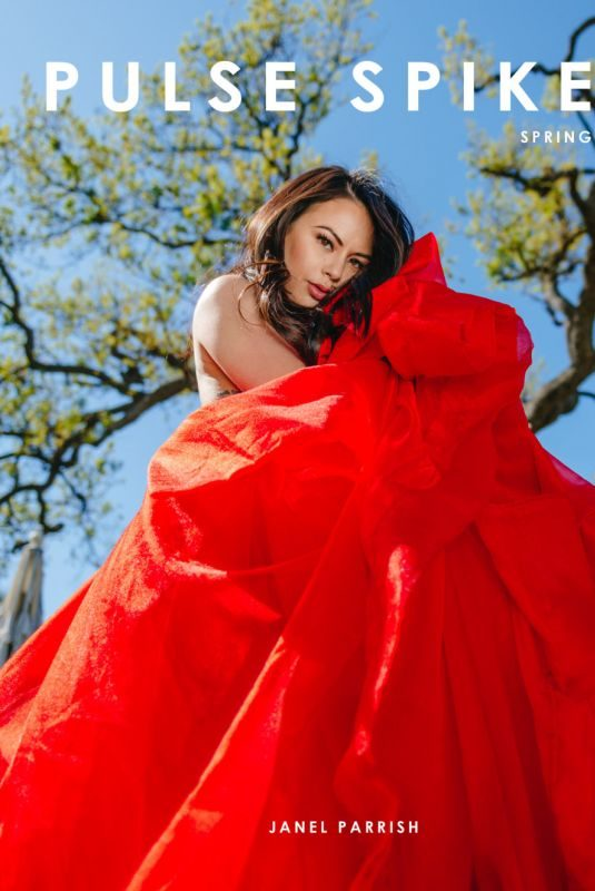JANEL PARRISH in Pulse Spikes Magazine, Spring 2019