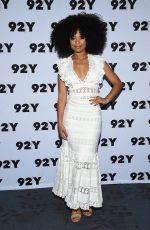 JAZ SINCLAIR at Chilling Adventures of Sabrina Cast at 92Y in New York 04/04/2019