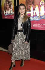 JAZMINE FRANKS at Hair the Musical Opening Night in Manchester 04/09/2019