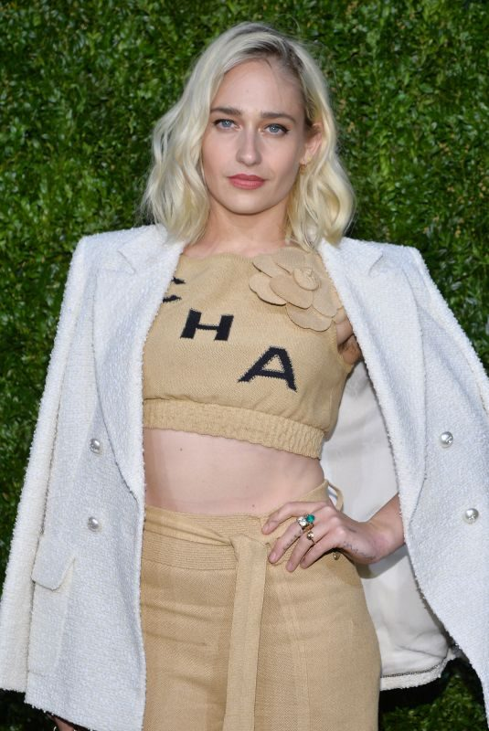 JEMIMA KIRKE at 14th Annual Tribeca Film Festival Artists Dinner Hosted by Chanel 04/29/2019