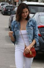 JENNA DEWAN Out and About in Los Angeles 04/11/2019