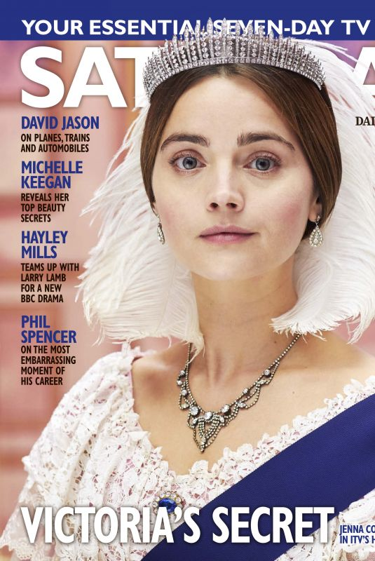 JENNA LOUISE COLEMAN in Saturday Magazine, March 2019