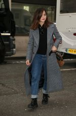 JENNA LOUISE COLEMAN Leaves Radio 2 in London 04/02/2019