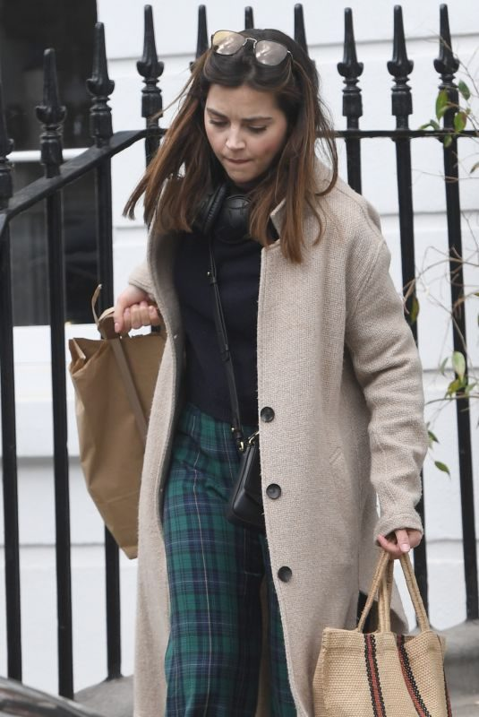 JENNA LOUISE COLEMAN Out and About in London 04/30/2019