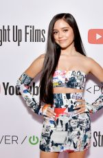 JENNA ORTEGA at Power on Premiere by Straight Up Films in Playa Vista 04/24/2019
