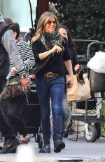 JENNIFER ANISTON Leaves Her New Apple Show in Century City 04/10/2019
