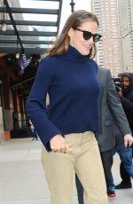 JENNIFER GARNER Leaves Her Hotel in New York 04/11/2019