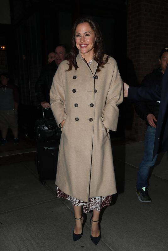 JENNIFER GARNER Night Out in New York 04/11/2019