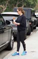 JENNIFER GARNER Out for Coffee in Brentwood 04/20/2019
