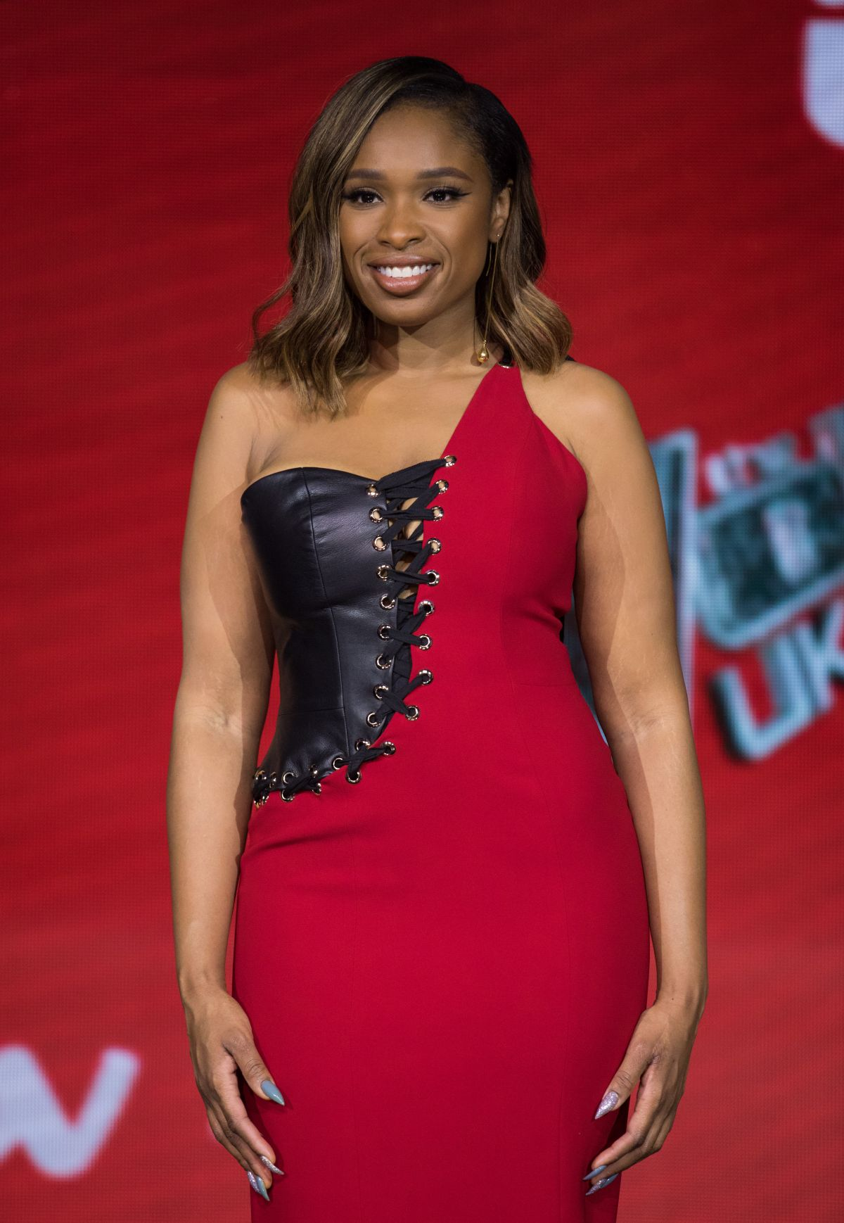 JENNIFER HUDSON at The Voice UK Final Photocall in London ...
