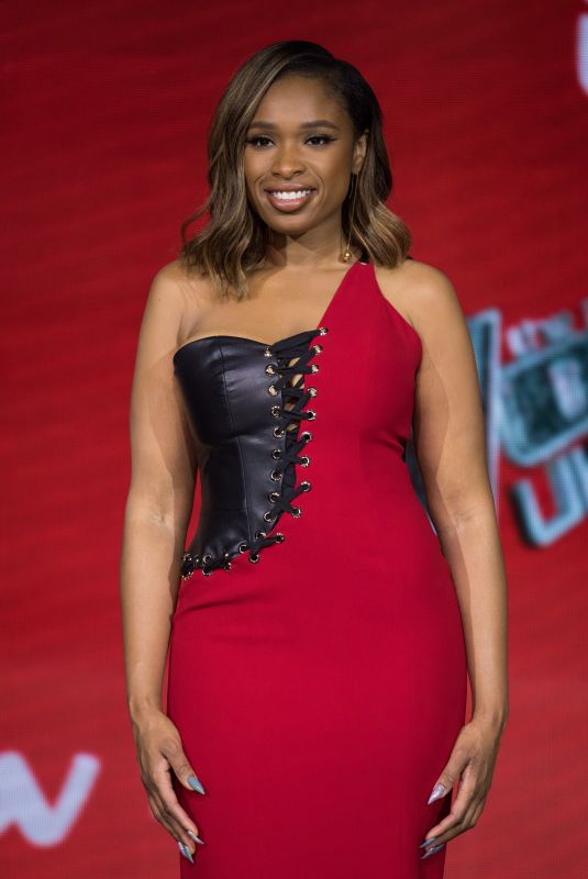 JENNIFER HUDSON at The Voice UK Final Photocall in London 04/04/2019
