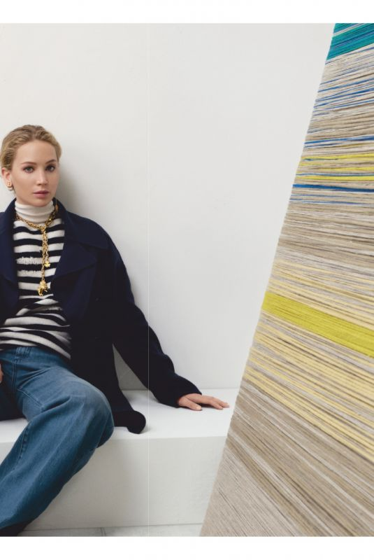 JENNIFER LAWRENCE for Christian Dior Pre-fall 2019