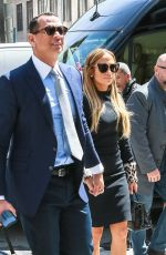 JENNIFER LOPEZ and Alex Rodriguez Out in New York 04/17/2019
