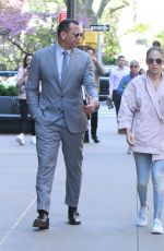 JENNIFER LOPEZ and Alex Rodriguez Out in New York 04/24/2019