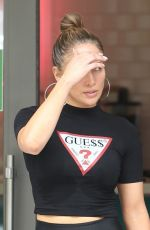 JENNIFER LOPEZ at a Yoga Class in Miami 04/20/2019