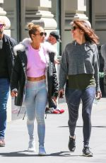 JENNIFER LOPEZ Heading to a Gym in New York 04/16/2019