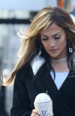 JENNIFER LOPEZ on the Set of Hustlers in New York 04/24/2019