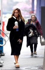 JENNIFER LOPEZ on the Set of Hustlers in New York 04/25/2019