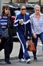 JENNIFER LOPEZ Out and About in New York 04/14/2019