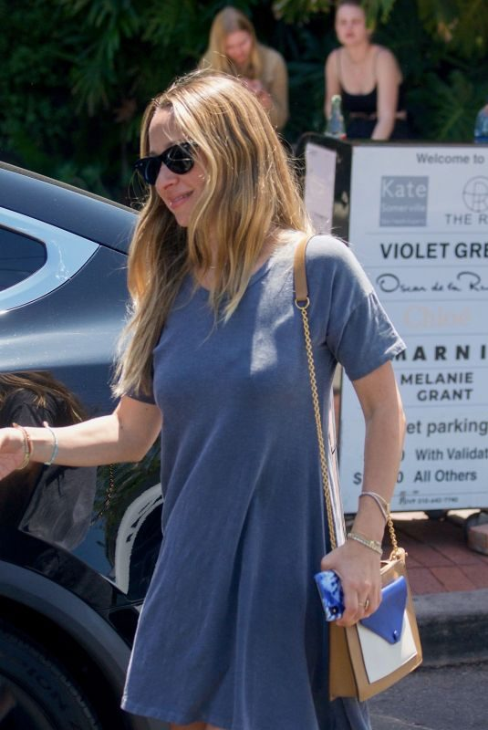 JENNIFER MEYER Out Shopping in Los Angeles 04/19/2019