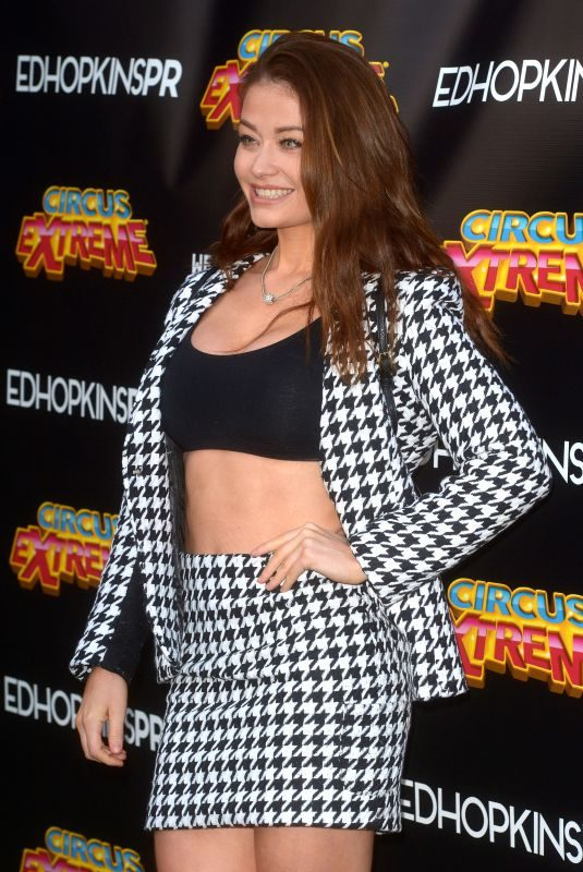 JESS IMPIAZZI at Circus Extreme Press Night in London 04/17/2019