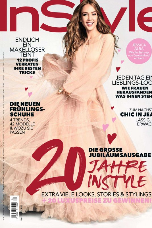 JESSICA ALBA in Instyle Magazine, Germany May 2019