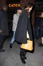 JESSICA BIEL and Justin Timberlake at Catch LA in New York 04/10/2019