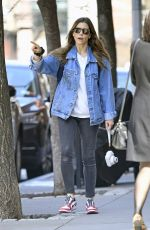 JESSICA BIEL Out in New York 04/07/2019