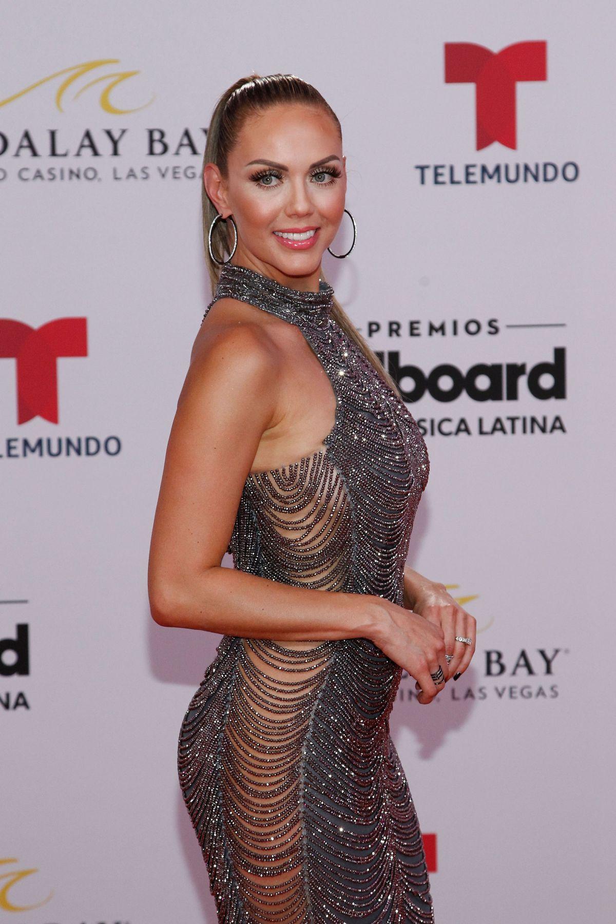 Press Room At The Z100 S Jingle Ball: JESSICA CARRILLO At 2019 Billboard Latin Music Awards