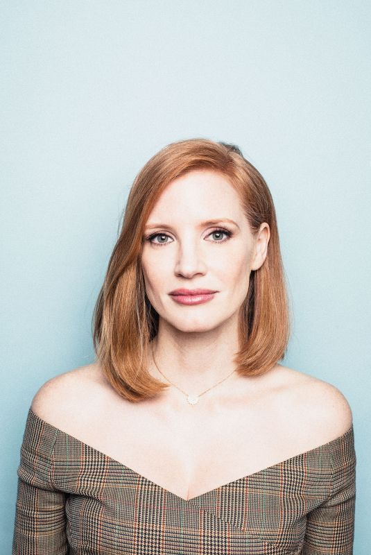 JESSICA CHASTAIN for Self Assignment, April 2019