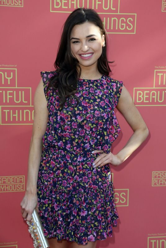 JESSICA MERAZ at Tiny Beautiful Things Opening Night in Los Angeles 04/14/2019