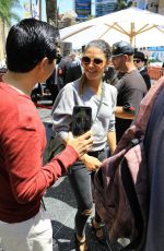 JESSICA SZOHR at Seth Macfarlane's Walk of Fame Event in Hollywood 04/23/2019