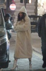 JESSIE J Filming Her New Music Video in London 04/10/2019