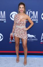 JESSIE JAMES at 2019 Academy of Country Music Awards in Las Vegas 04/07/2019