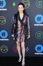 JESSIKA VAN at Freeform Summit in Los Angeles 03/27/2019