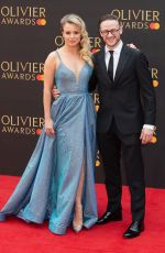 JOANNE CLIFTON at 2019 Laurence Olivier Awards in London 04/07/2019