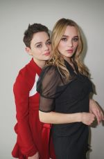 JOEY and HUNTER KING at Life in Pieces Photoshoot, April 2019