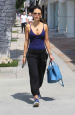 JORDANA BREWSTER Out and About in West Hollywood 04/08/2019