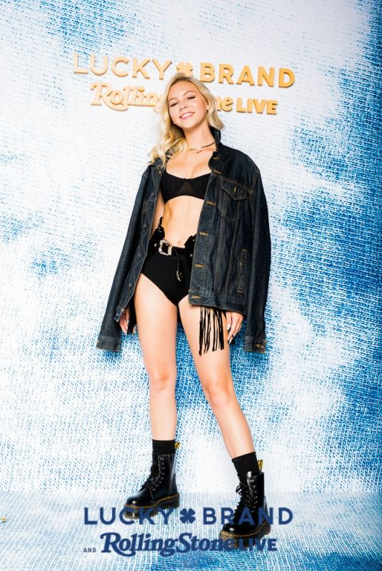 JORDYN JONES - Lucky Brand and Rolling Stone Live Present Desert Jam Photobooth04/13/2019
