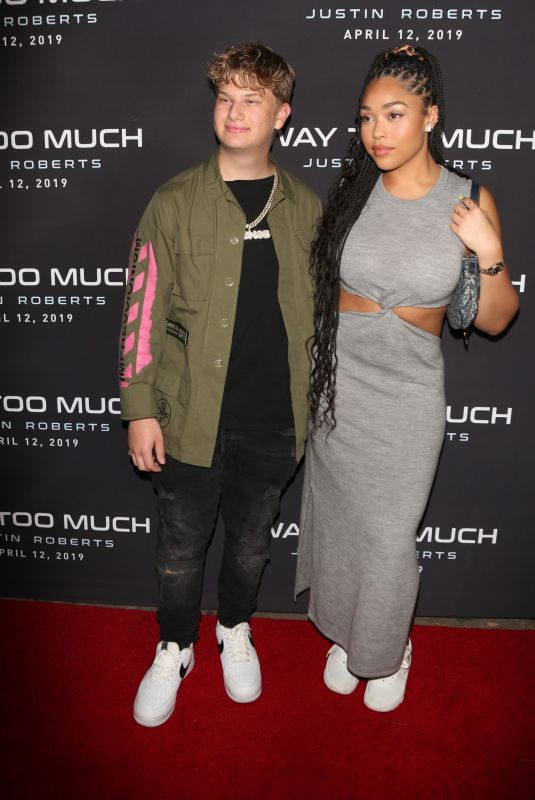 JORDYN WOODS and Justin Roberts at Way Too Much in West Hollywood 04/08/2019