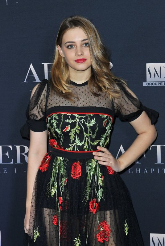 JOSEPHINE LANGFORD at After Screening at Hotel Royal Monceau in Paris 04/01/2019