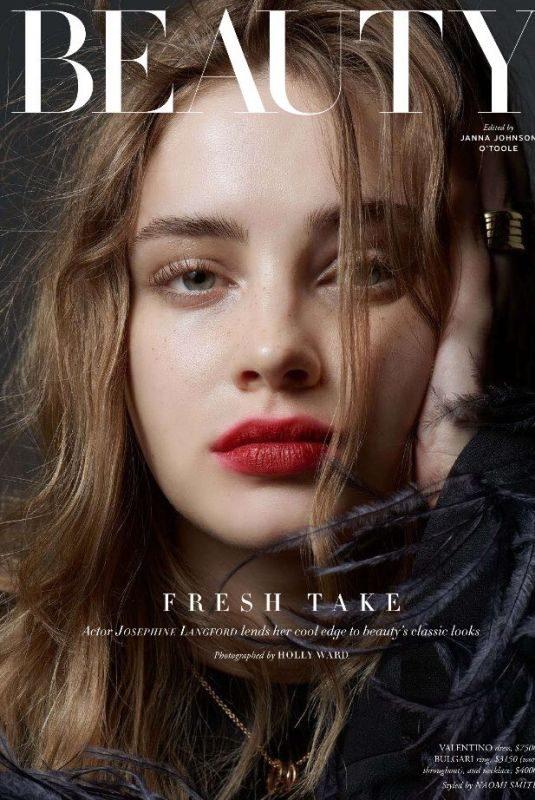 JOSEPHINE LANGFORD for Harper's Bazaar Magazine, Australia May 2019