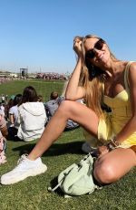 JOSEPHINE SKRIVER at Coachella Festival - Instagram Pictures and Video 04/21/2019
