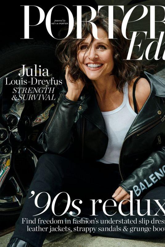 JULIA LOUS-DREYFUS for Porter Edit Magazine, April 2019