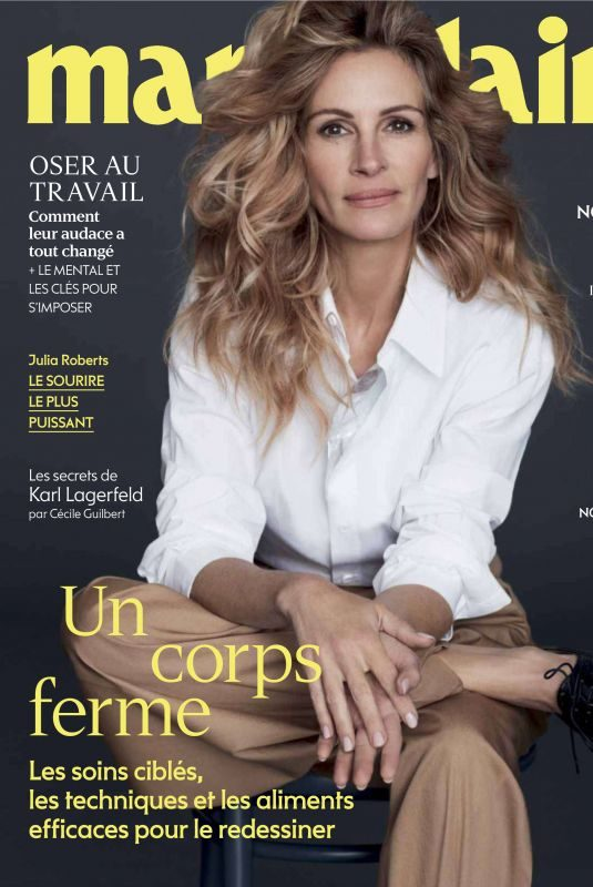 JULIA ROBERTS in Marie Claire Magazine, France May 2019