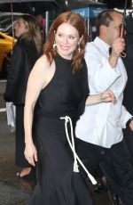 JULIANNE MOORE Arrives at Variety Power of Women Luncheon in New York 04/05/2019