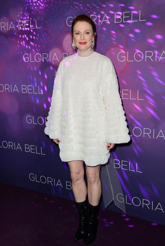 JULIANNE MOORE at Gloria Bell Premiere in Paris 04/15/2019