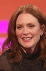 JULIANNE MOORE at Graham Norton Show in London 04/11/2019