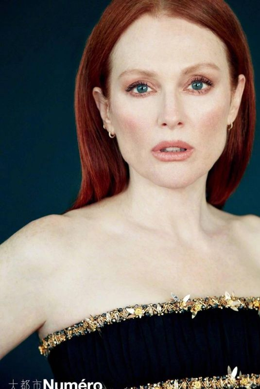 JULIANNE MOORE in Numero Magazine, China May 2019
